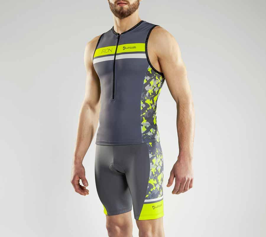 Custom cycling triathlon iron