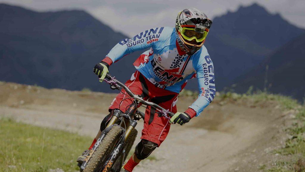 Marcello Bergamo abbigliamento personalizzato mountain bike