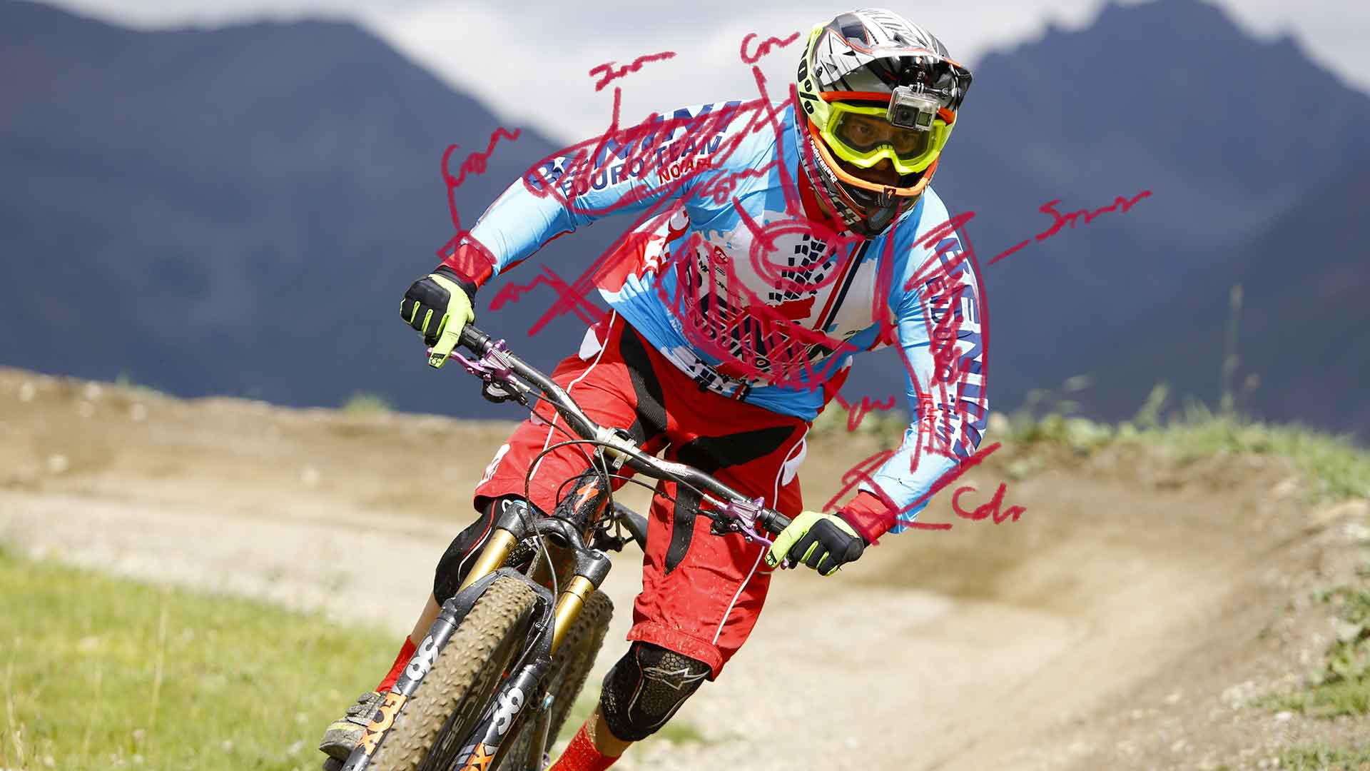 Marcello Bergamo custom mountain bike
