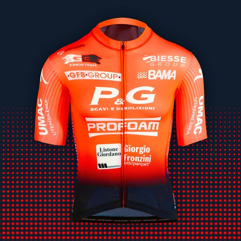 Team Bortolami maglia custom cycling