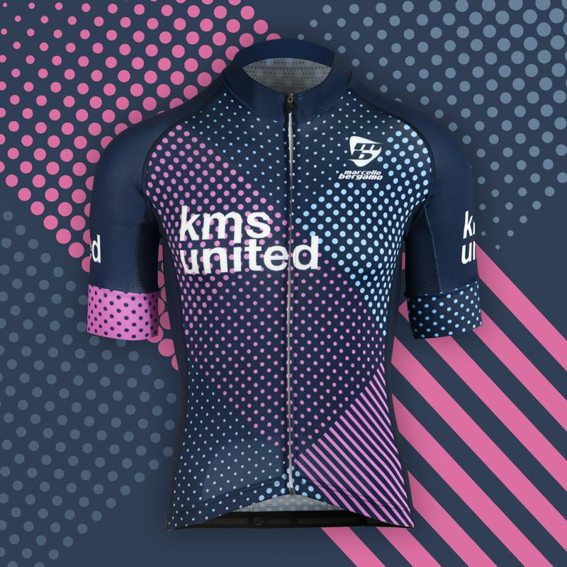 Kms team maglia custom cycling