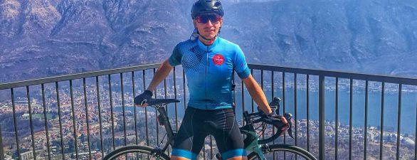 Davide Lorè, cambiare vita grazie alla bici