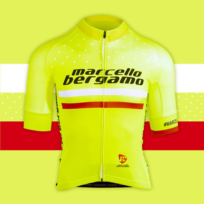 Marcello Bergamo team maglia custom cycling