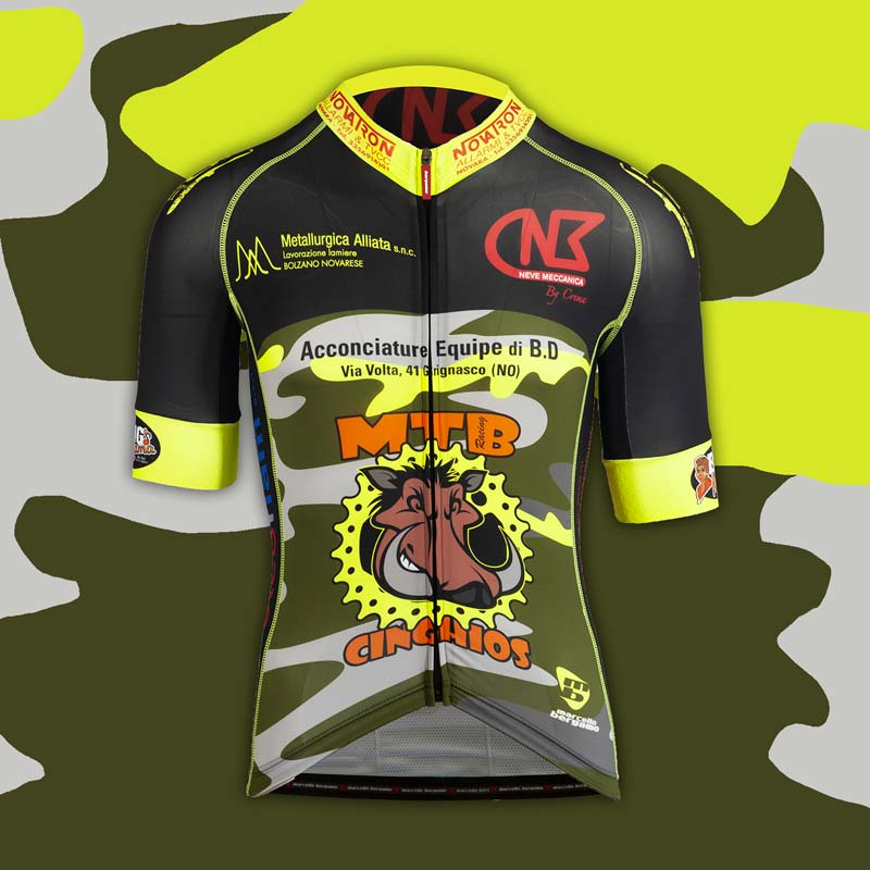 MTB Cinghios team maglia custom mountain bike