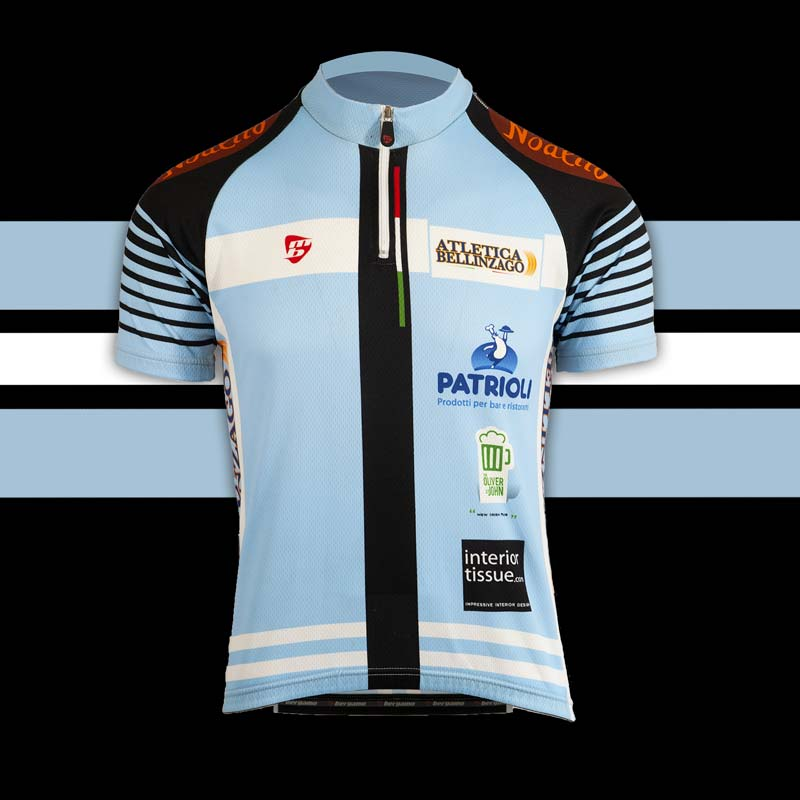 Atletica Bellinzago team maglia custom cycling