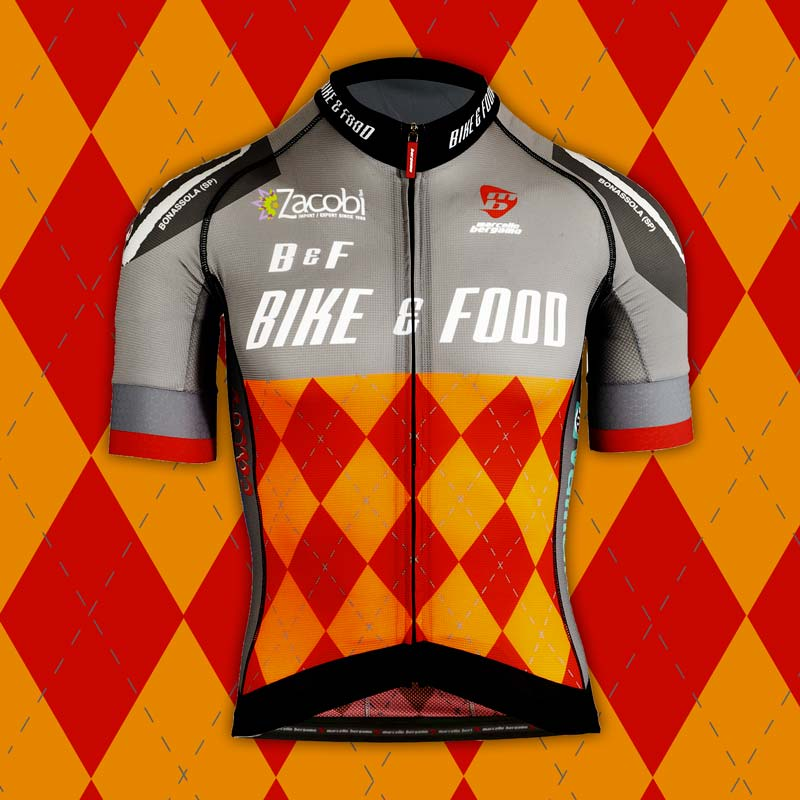 Bike & Food team maglia custom cycling