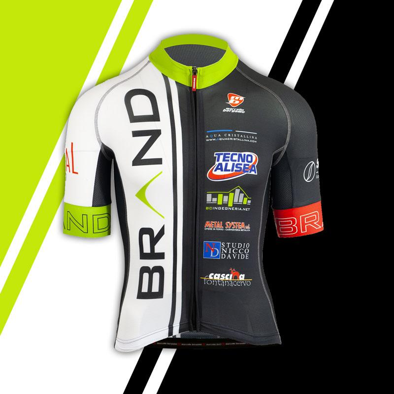 Brand team maglia custom cycling