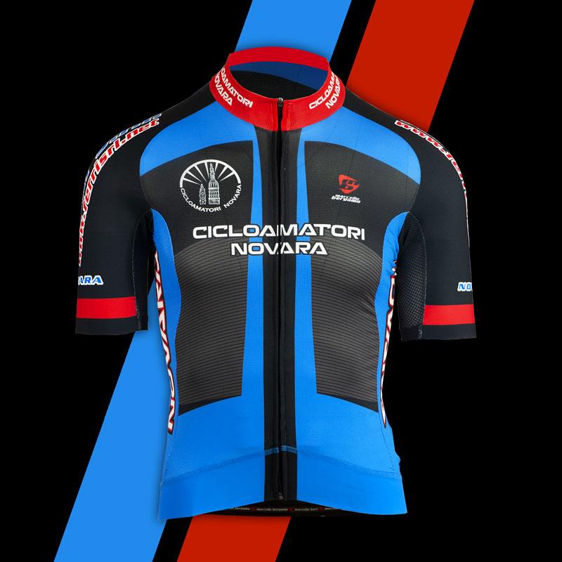Cicloamatori Novara team maglia custom cycling