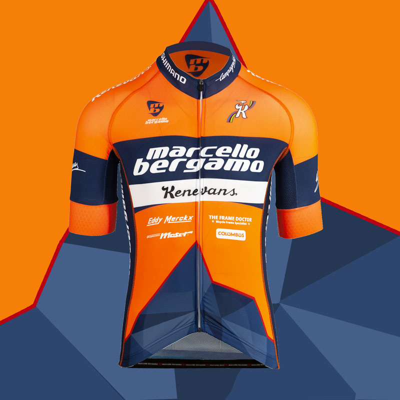 Kenevans team maglia custom cycling