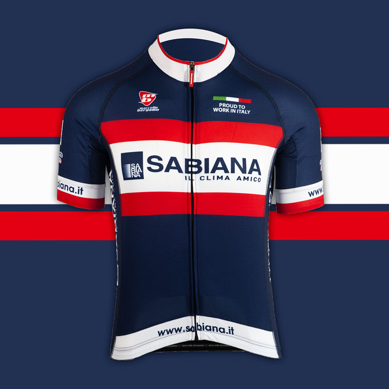 Sabiana team maglia custom cycling
