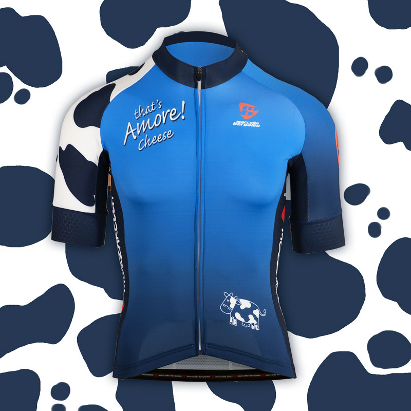 That's Amore Cheese team maglia custom cycling
