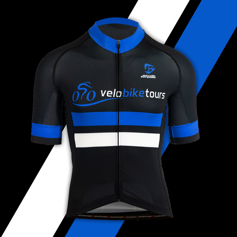 Velo Bike Tours team maglia custom cycling