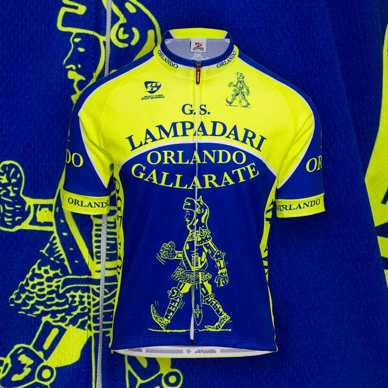 Orlando Lampadari team maglia custom cycling