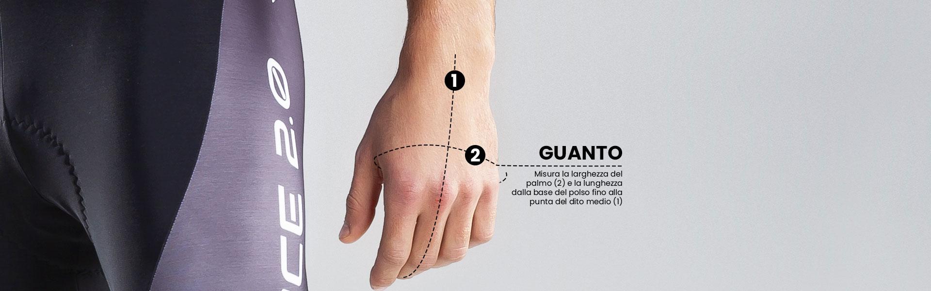 Marcello Bergamo taglie guanti