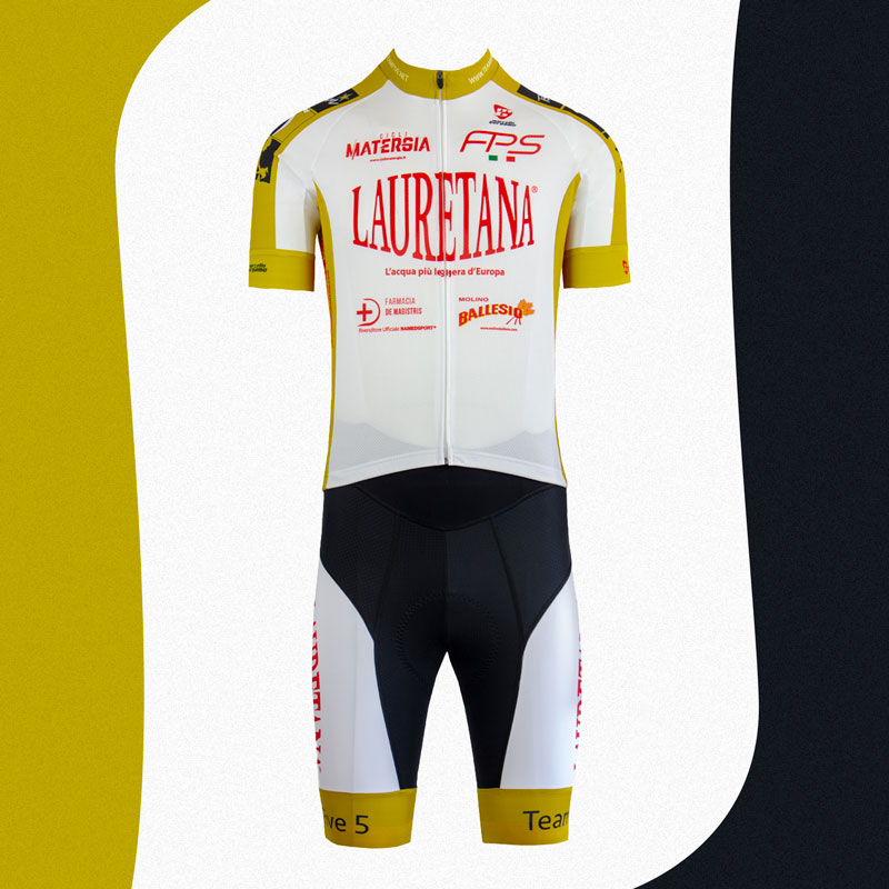Lauretana Triathlon team maglia custom