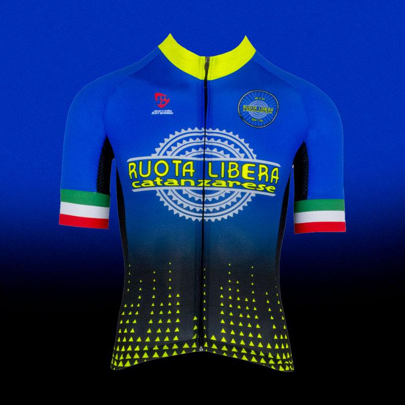 Ruota Libera team maglia custom cycling